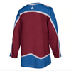 Men's Colorado Avalanche adidas Burgundy Home Authentic Blank Jersey