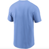 Men's Tampa Bay Rays Nike Light Blue Color Bar T-Shirt