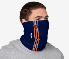 Adult Chicago Bears Sideline FOCO On-Field Gaiter Scarf / Face Mask