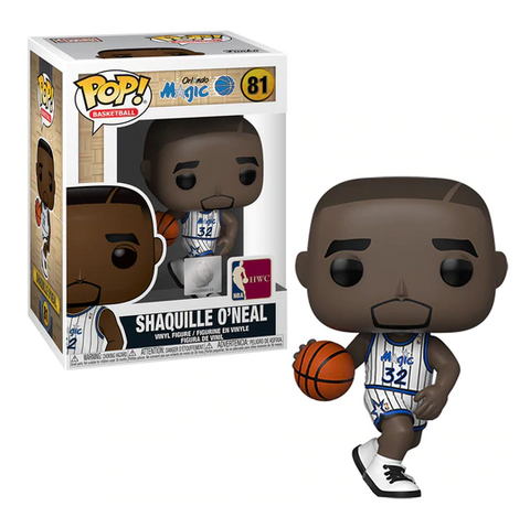 Shaquille O'Neal Orlando Magic NBA Legends Funko Pop!