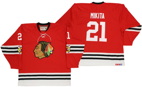 CCM Chicago Blackhawks Stan Mikita Team Classic Vintage Jersey