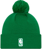 Men's Boston Celtics New Era Green 2020/21 City Edition Alternate Pom Cuffed Knit Hat