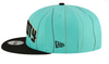 Men's Charlotte Hornets New Era 2020/21 City Edition Primary 9FIFTY Snapback Adjustable Hat - Mint Green/Black