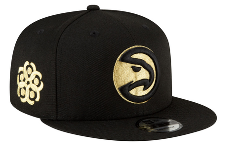 Men's New Era 2020-21 City Edition Atlanta Hawks 9Fifty Adjustable Snapback Hat