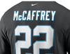 Youth Carolina Panthers Christian McCaffery Nike Black Player Pride Name & Number Performance T-Shirt