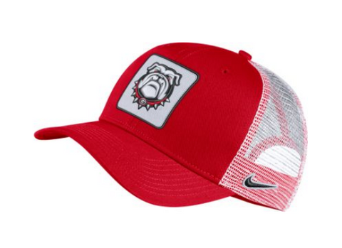 Nike Georgia Bulldogs Red/White Classic99 Adjustable Mesh Back Hat