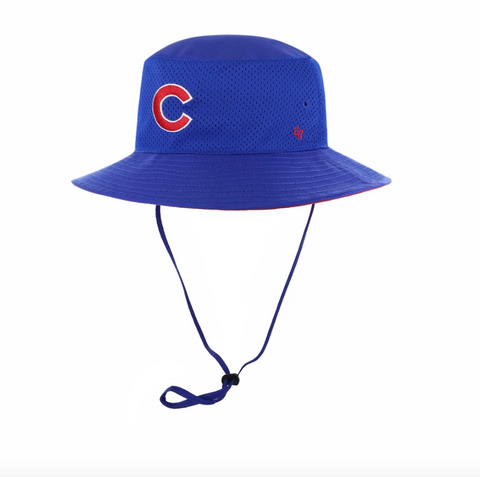 '47 Brand Chicago Cubs Panama Pail Royal Bucket Hat