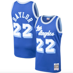 Men's Los Angeles Lakers Elgin Baylor Mitchell & Ness Royal Hardwood Classics 1960-61 Swingman Jersey