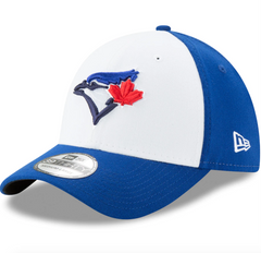 Men's Toronto Blue Jays New Era White Alternate 3 Team Classic 39THIRTY Flex Hat