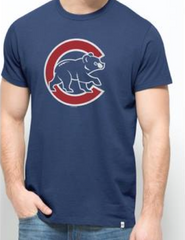 CHICAGO CUBS ALL PRO FLANKER TEE BY '47 BRAND