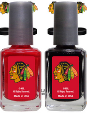 CHICAGO BLACKHAWKS NAIL POLISH - Pro Jersey Sports