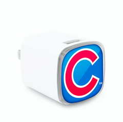 Chicago Cubs Dual Usb Wall Charger - Pro Jersey Sports