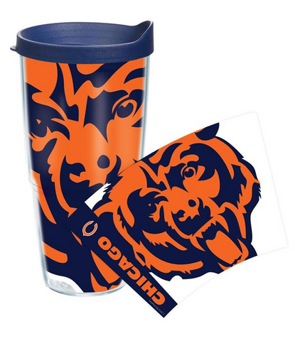 Chicago Bears Colossal 16 oz. Tervis Tumbler - Pro Jersey Sports