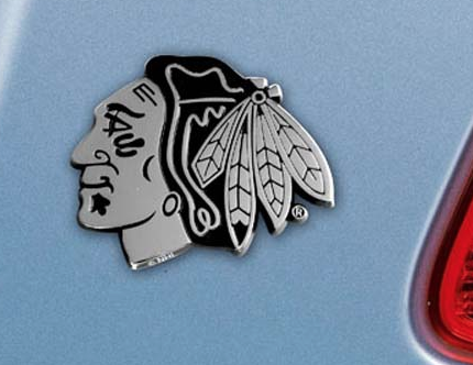 Chicago Blackhawks Auto Molded Emblem
