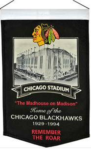 Chicago Blackhawks Winning Streak NHL Chicago Stadium Banner
