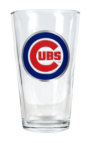 Chicago Cubs Pint Shaker Glass - Pro Jersey Sports