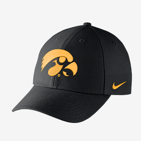 Iowa Hawkeyes Nike Dri-Fit Wool Classic Adjustable Hat