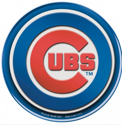 Chicago Cubs Domed Decal By Wincraft - Pro Jersey Sports