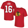 Andrew Ladd Chicago Blackhawks Name And Number Tee By Reebok - Pro Jersey Sports - 1