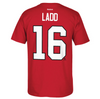 Andrew Ladd Chicago Blackhawks Name And Number Tee By Reebok - Pro Jersey Sports - 3