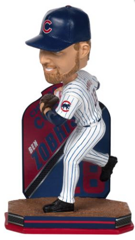 Ben Zobrist Chicago Cubs Limited Edition Bobblehead - Pro Jersey Sports