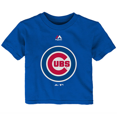 Chicago Cubs Infant Primary Logo T-Shirt - Pro Jersey Sports
