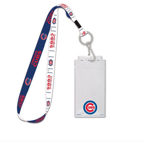 Chicago Cubs Credential Lanyard - Pro Jersey Sports