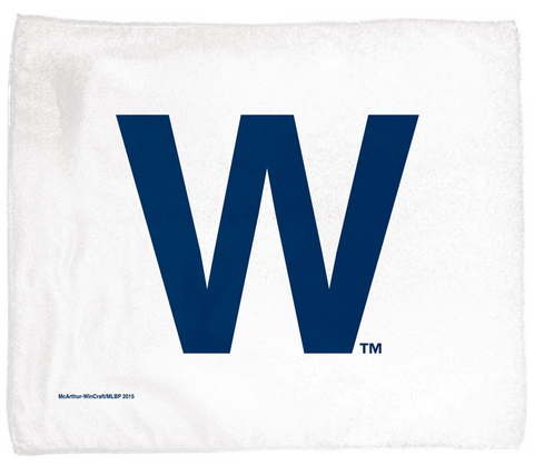 "Chicago Cubs ""W"" Rally Towel - Pro Jersey Sports"