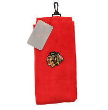 Chicago Blackhawks Embroidered Golf Towel - Pro Jersey Sports
