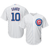 Majestic Men's Replica Chicago Cubs Ron Santo #10 Cool Base Home White Jersey With Pro Lettering - Pro Jersey Sports - 1