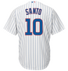 Majestic Men's Replica Chicago Cubs Ron Santo #10 Cool Base Home White Jersey With Pro Lettering - Pro Jersey Sports - 2