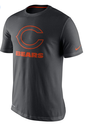 Nike Men'S Chicago Bears Travel Dri-Fit T-Shirt