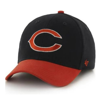 Chicago Bears Short Stack Mvp Youth Adjustable Hat