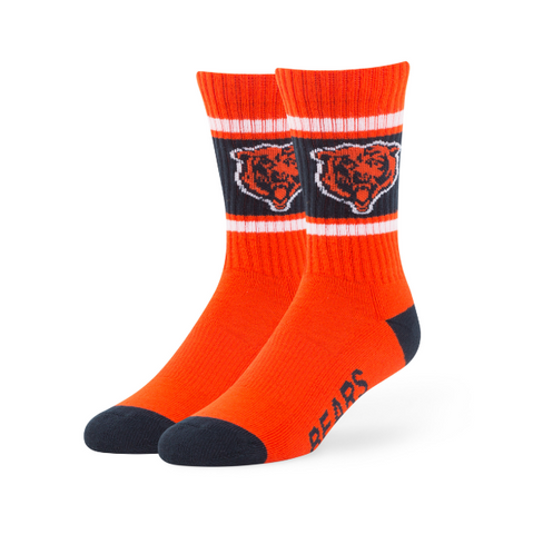 Chicago Bears Orange Duster Sport Socks - Pro Jersey Sports
