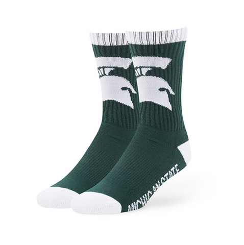 Michigan State Spartans Duster Sport Socks