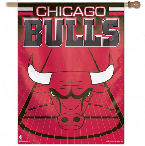 Chicago Bulls 27X37 Vertical Flag - Pro Jersey Sports