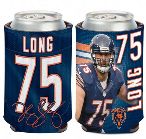 Kyle Long Chicago Bears 12 oz. Can Coozie By Wincraft