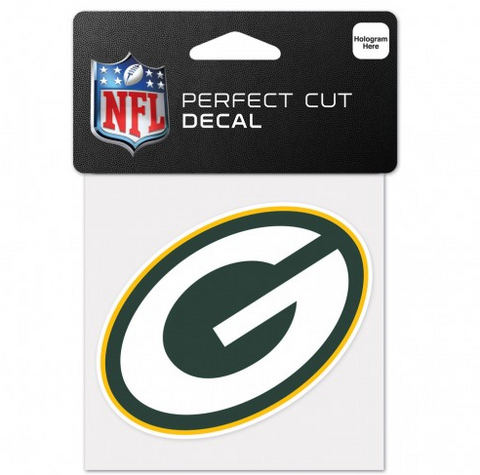 Green Bay Packers 4X4 Perfect Cut Decal