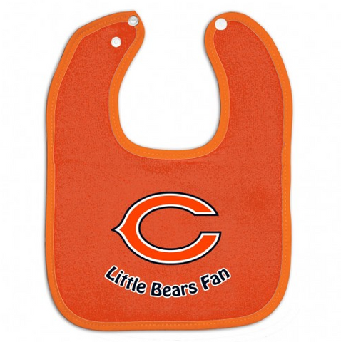 "Chicago Bears ""little Bears fan"" Bib By Wincraft - Pro Jersey Sports"