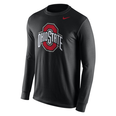 Ohio State Buckeyes Long Sleeve Nike Tee