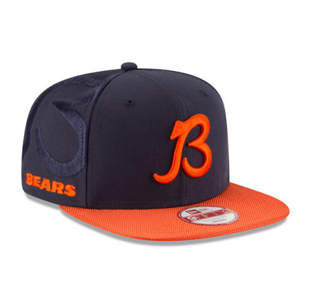 "Chicago Bears ""B"" NFL16 Sideline Snapback By New Era"