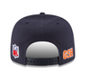 "Chicago Bears ""B"" NFL16 Sideline Snapback By New Era - Pro Jersey Sports - 5"