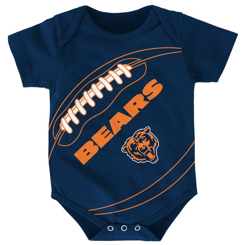 Chicago Bears Baby Infant Fanatic Bodysuit Creeper