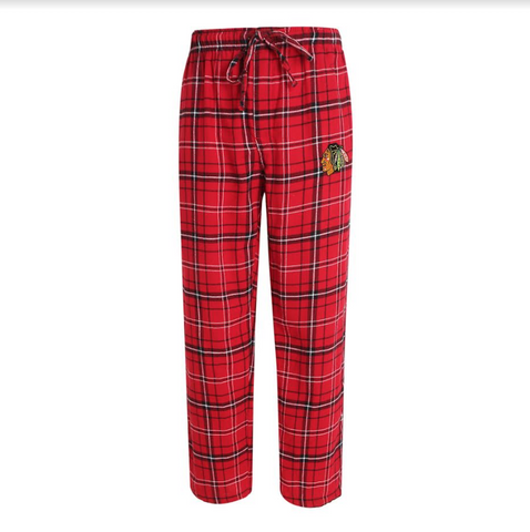 Chicago Blackhawks Concepts Sport Ultimate Plaid Flannel Pajama Pants