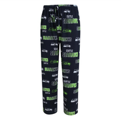 Seattle Seahawks Mens Sweep Printed Pajama Pants By Concepts Sport