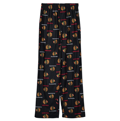 Chicago Blackhawks Youth Alternate All Over Printed Pajama Pants