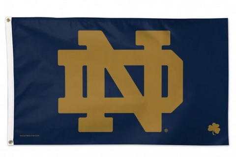 Notre Dame Fighting Irish Deluxe 3x5 Flag By Wincraft