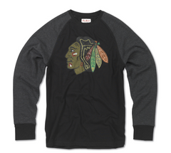 Chicago Blackhawks Mens Fremont Long Sleeve Tee By Red Jacket - Pro Jersey Sports