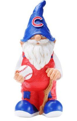 Chicago Cubs Garden Gnome-Forever Collectibles - Pro Jersey Sports