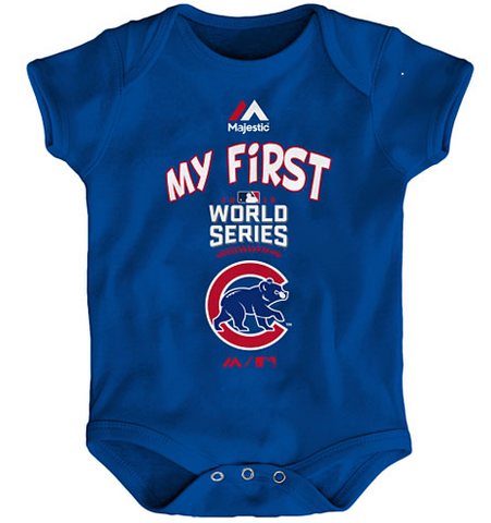 Chicago Cubs Infant 2016 World Series My First Creeper